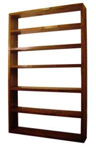 Tall Walnut Shelf